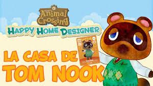 animal crossing happy home designer decoramos la casa de tom