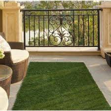 Outdoor Grass Rugs Artificial Turf Rugs Flooring The Home Depot