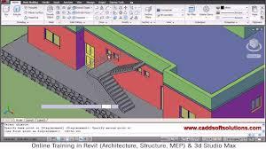 3d Home Floor Plan Autocad 3d House Modeling Tutorial 8 3d Home 3d Building