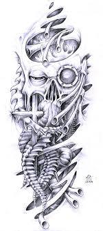 biomechanical and skull designs ideas kerky