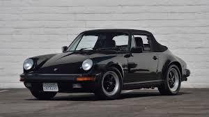 porsche convertible black 1988 porsche 911 cabriolet f32 monterey 2017
