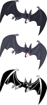 Cute Halloween Bats by Evil Vampire Fruit Bat By Imageconstructor On Deviantart