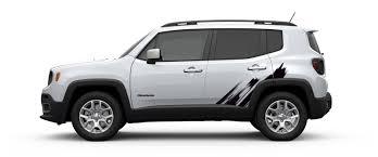 black jeep renegade 2015 jeep renegade hood u0026 bodyside decal kit black brushed mopar