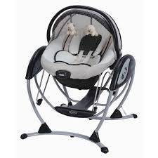 Graco Baby Doll Furniture Sets by Graco Glider Elite 2 In 1 Gliding Baby Swing Pierce Walmart Com