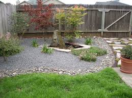 stunning small fenced backyard landscaping ideas also small