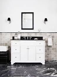 Modern Art Deco Bathrooms by Glamorous Art Deco Bathroom Completehome