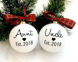 aunt ornament etsy