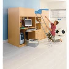 Argos Bunk Beds With Desk Buy Ohio Beech High Sleeper With Wardrobe Desk Small Single At
