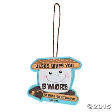 jesus s you smore ornament craft kit 12 pk supplies