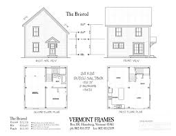 simple house floor plans with measurements post beam home plans in vt timber framing floor plans vt frames