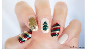 christmas nail art l nail art design mix u0027n u0027match christmas nails