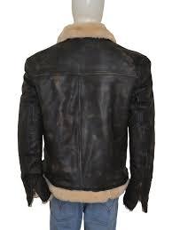 brown motorcycle jacket vin diesel xander cage leather fur jacket instylejackets