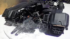 batman car toy this rc batmobile has a real working exhaust that blows smoke and