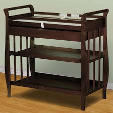 Espresso Changing Table Afg Sleigh Changing Table Espresso Simply Baby Furniture