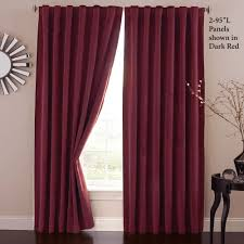 Energy Efficient Curtains Cheap Absolute Zero Eclipse Home Theater Blackout Curtain Panels