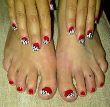 red and white nail designs house design ideas