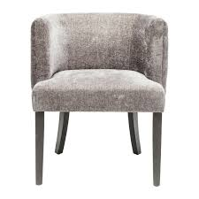 chaise capitonn e grise chaise avec accoudoirs capitonnée grise theater kare