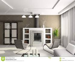 3d render modern interior of living room stock photos image 4770843