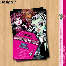 81 best my invitations images on pinterest monster high birthday