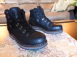 s outdoor boots in size 12 hanwag tashi boots black size 12 yak leather vibram soles ebay
