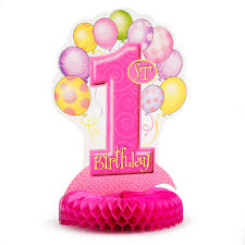 1st birthday 1st birthday pink parties4less net party supplies party favors