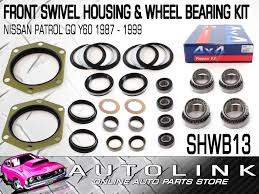 nissan patrol y60 canada front swivel housing u0026 wheel bearing kit suit nissan patrol gq y60
