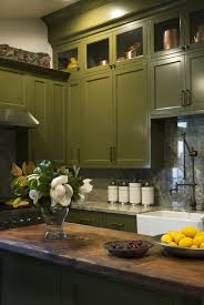 green color kitchen cabinets 31 green kitchen design ideas paint colors for green kitchens