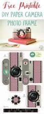free printable diy paper camera photo frame diy paper free