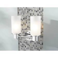 Moen DNCH Iso Chrome Bathroom Lighting Lighting EFaucetscom - Bathroom lighting fixtures chrome 2