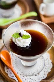 coffee jelly recipe コーヒーゼリー u2022 just one cookbook