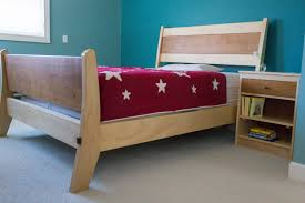 sleigh bed two bedroom sets from vermont furniture maker jim becker