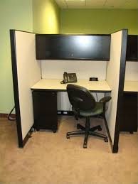 Lockable Desk Used Ki Telemarketing Cubicles With Surface Mounted Power Block