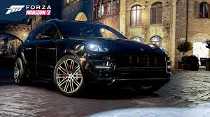 Porsche Macan Turbo - 10 porsche models added to forza horizon 2 including macan turbo