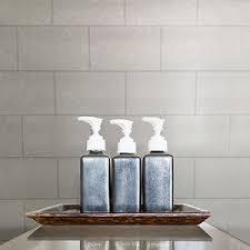 Bathroom White Brick Tiles - kitchen and bathroom white glitter tile wallpaper london brick