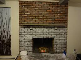 white washed brick fireplace royalty sparkles before loversiq