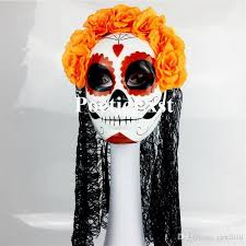 day of the dead masks day of the dead mask women dress up masks pretend display festive