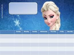 9 images frozen printable responsibility charts frozen