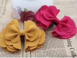 handmade hair cheap handmade corn corduroy bow flowers diy hair shoe bag