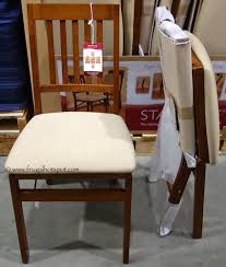 Costco Folding Table And Chairs Costco Sale Stakmore Solid Wood Folding Chair 2499 Frugal