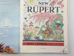 rupert annual 1954 rupert written bestall alfred