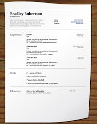 How To Present A Resume How To Present Resume At Interview Resume Ideas