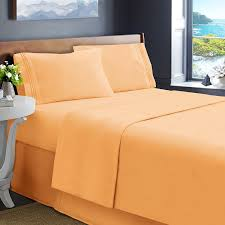 Buy Bed Sheets Online U2013 100 Egyptian Cotton Bed Linen Orange Bed Sheet Sets Fall Sale U2013 Ease Bedding With Style