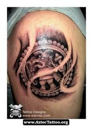 ancient aztec tattoos meanings