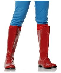 Shazam Halloween Costume Shazam Red Boots Men Costume Halloween Shoes