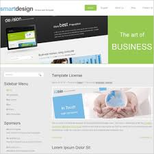smart design template free website templates in css html js