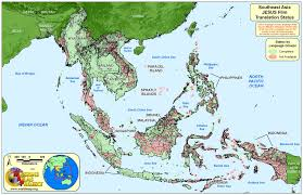Southern And Eastern Asia Map by Map Of South And East Asia Roundtripticket Me