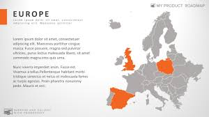 Eros Map Europe Professional Powerpoint Map Smart Art Slide Design U2013 My