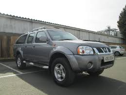 nissan navara hardbody double cab pick up manual half leather