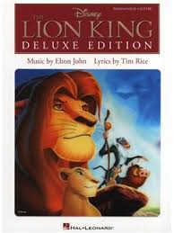 elton john tim rice lion king deluxe edition piano vocal