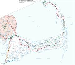 Map Of Cape Cod Massachusetts by Massachusetts Bicycle Facilities Inventory Report Cape Cod Map